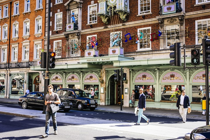 Fortnum&Mason: una parada obligatoria para el 'afternoon tea'