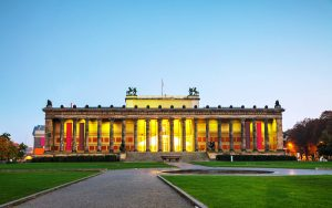 Altes Museum building in the morning in Berlin, Germany