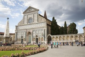 Santa Maria Novella Church in Florence.