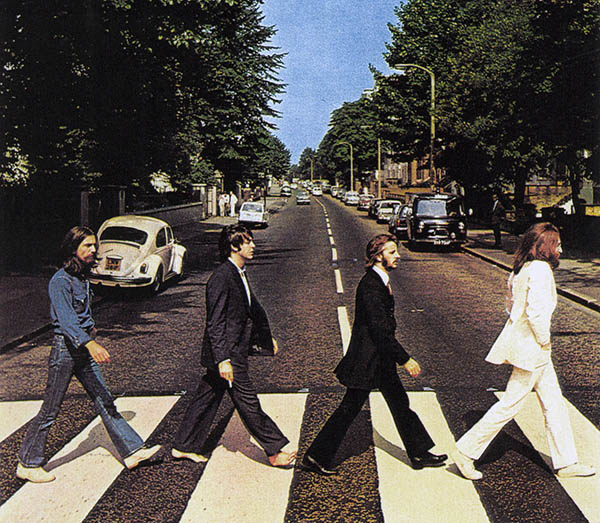 Portada del álbum Abbey Road de 1969